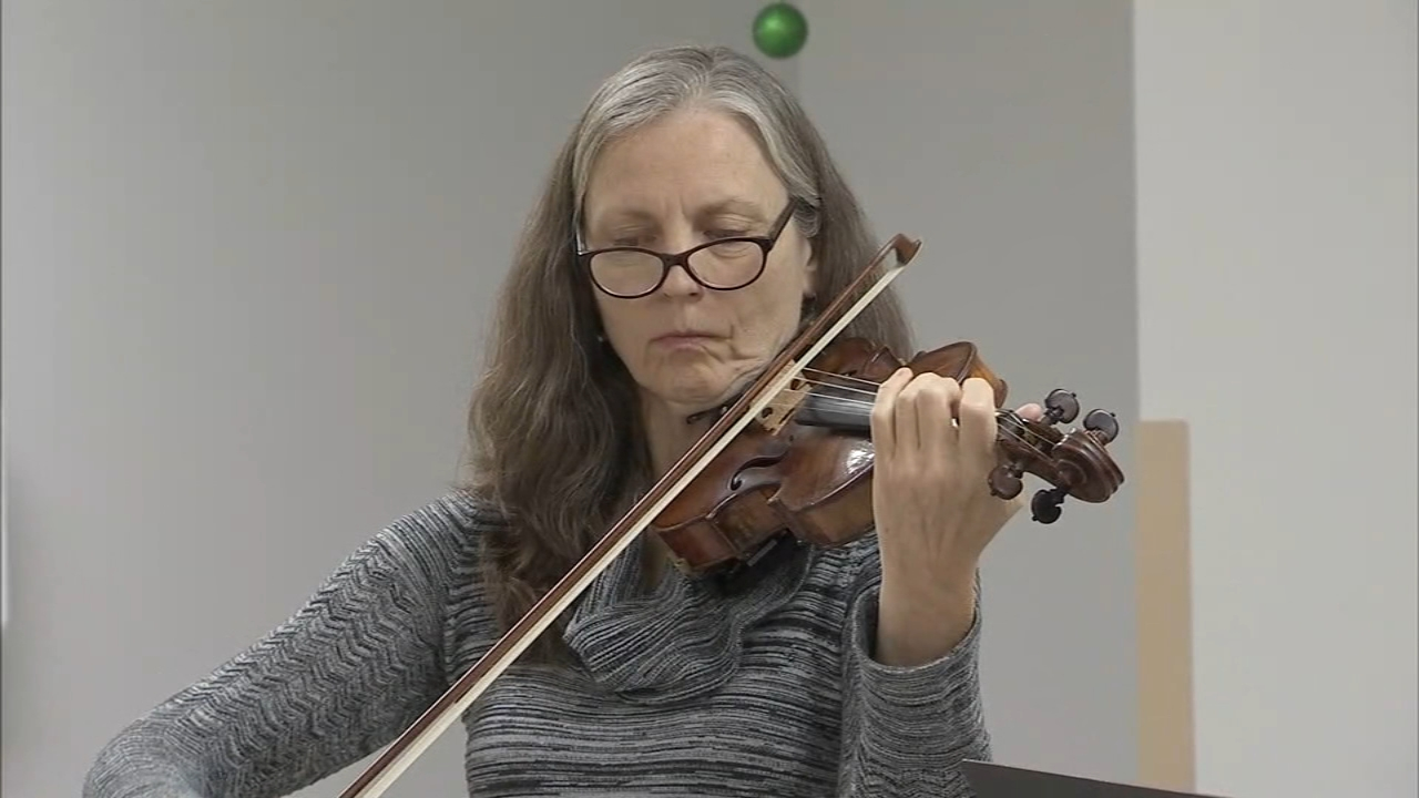 Members of the New Jersey Symphony Orchestra performed for the non-profit as reported during Action News at 4 on December 5, 2018.