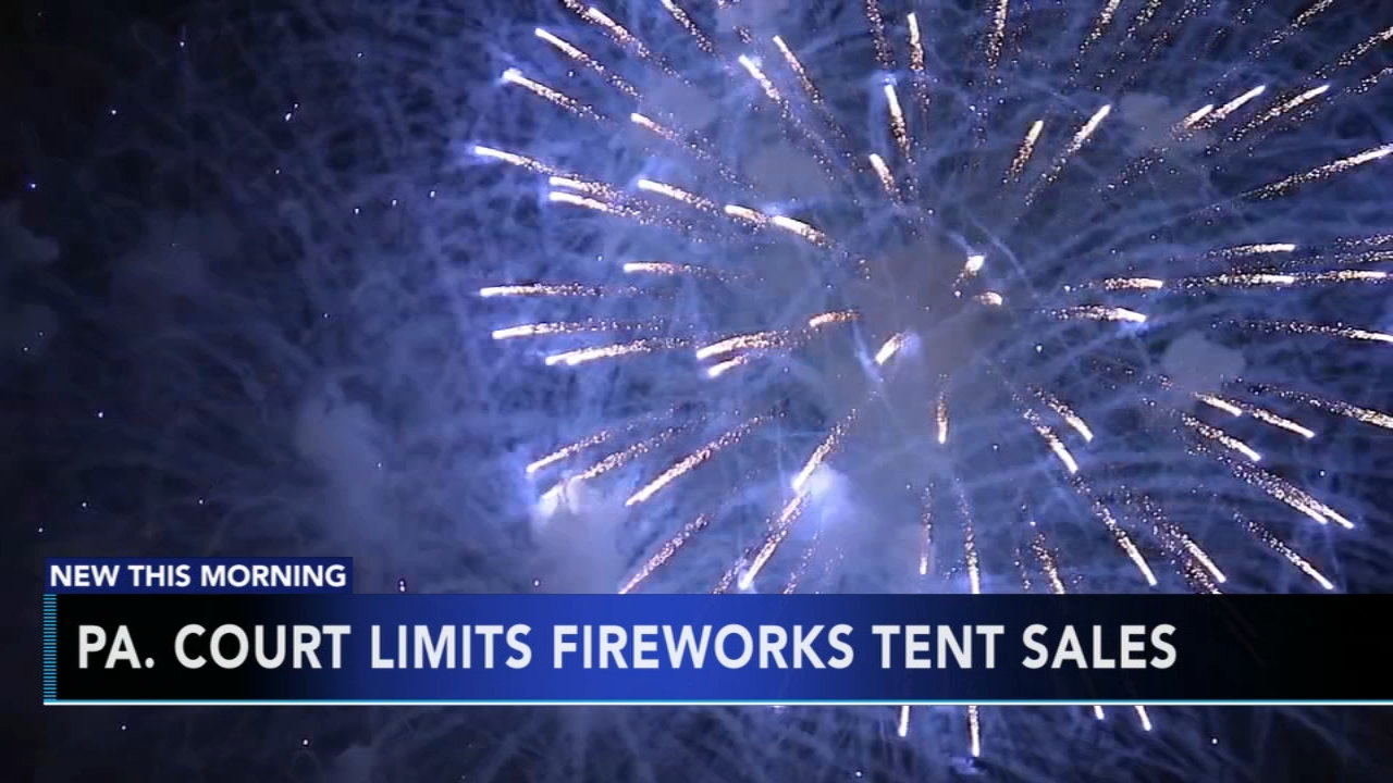 Pa. court limits fireworks tent sales. Matt ODonnell reports during Action News Mornings on December 5, 2018.