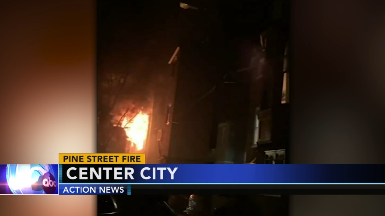 Firefighter hit by falling air conditioner in Center City. Watch this report from Action News Mornings on December 6, 2018.