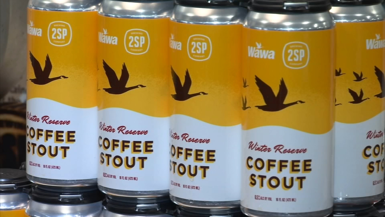 Wawa celebrates launch of limited-edition winter beer. Rick Williams reports during Action News at 5 p.m. on December 6, 2018.