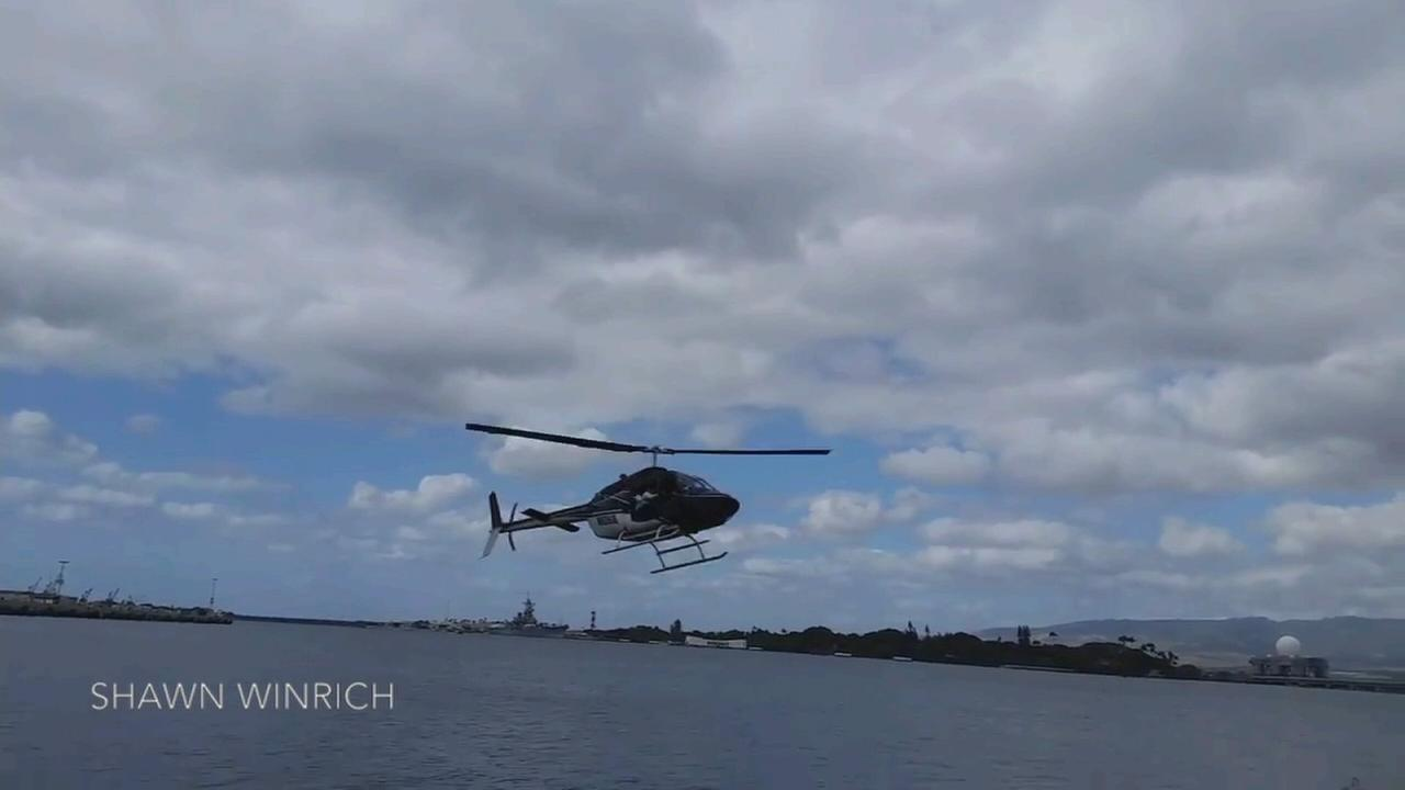 VIDEO: Helicopter crash caught on video