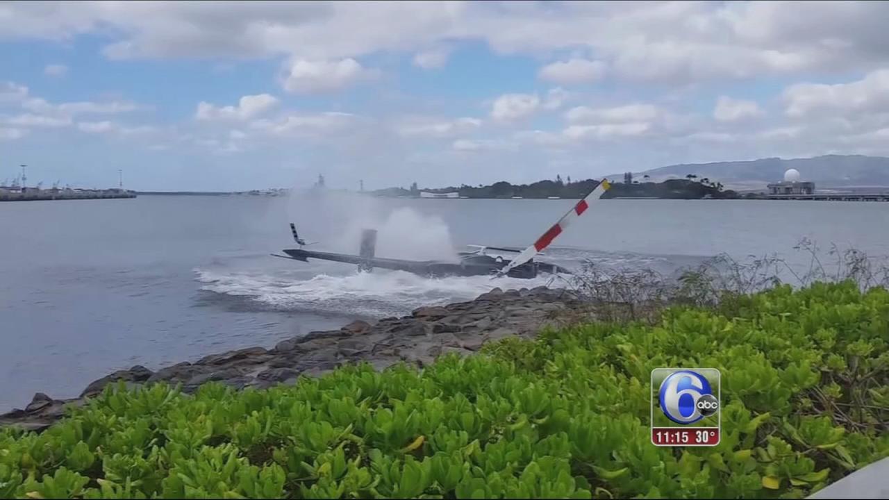 VIDEO: Chopper crash