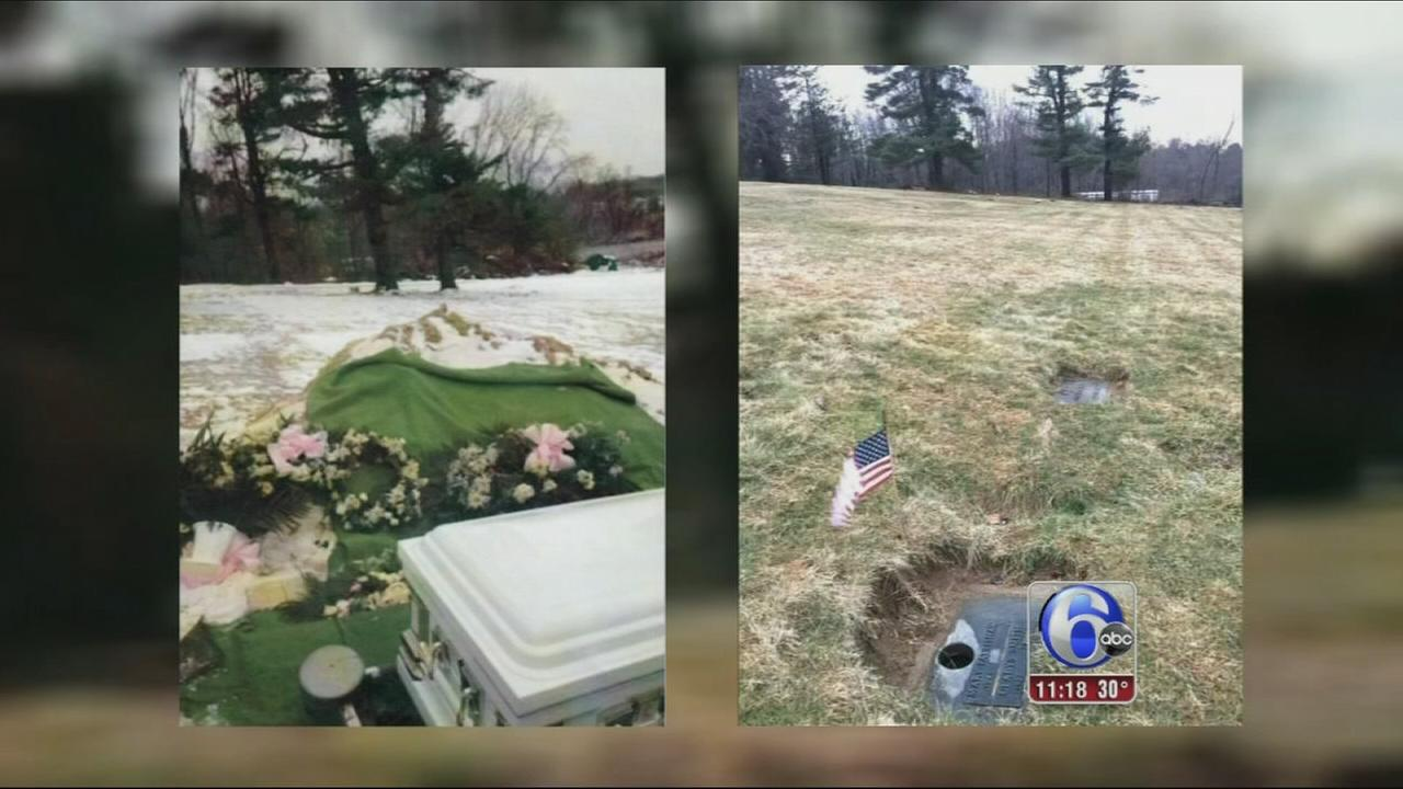VIDEO: Cemetary lost body