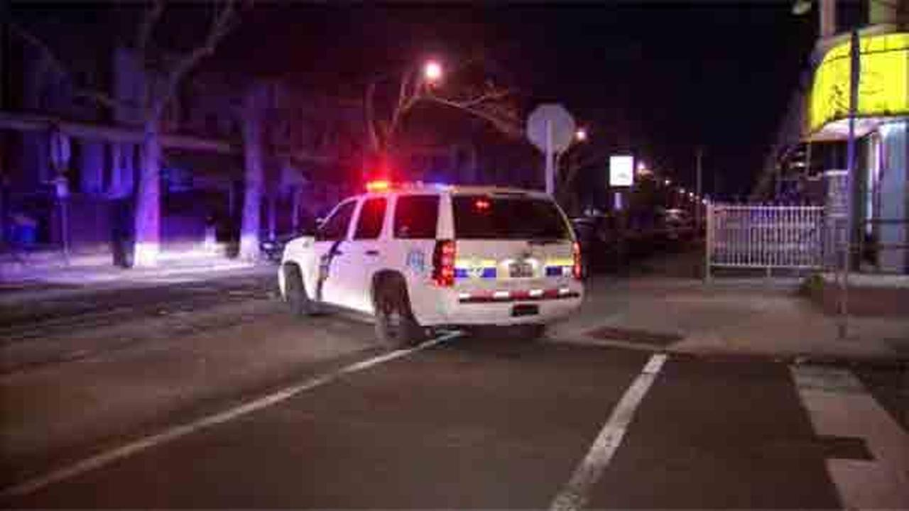 Two men are wanted after a shooting in West Philadelphia.