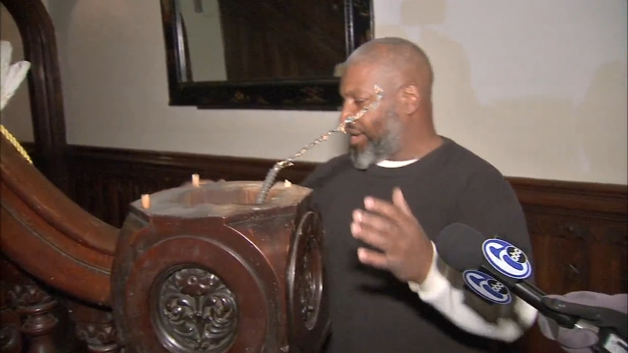Police are still looking for the bandits who broke into a North Philadelphia church as reported by Jeff Chirico during Action News at 11 on December 7, 2018.