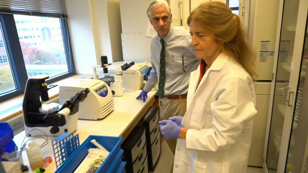 Local researchers helping reverse inherited form of blindness: Ali Gorman reports during Action News at 5pm on December 7, 2018.