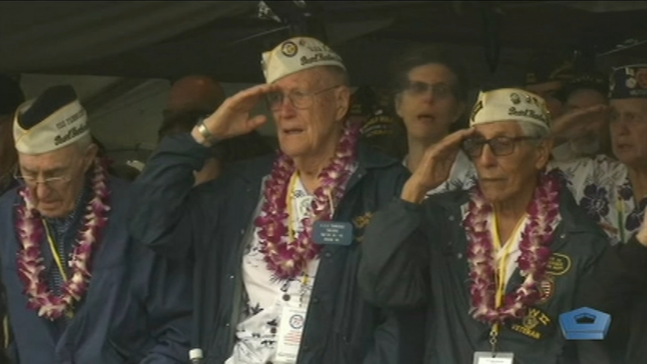 Survivors gather at Pearl Harbor for attack remembrance. Jim Gardner reports during Action at 11 p.m. on December 7, 2018.
