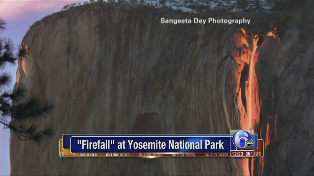 VIDEO: Firefall at Yosemite National Park