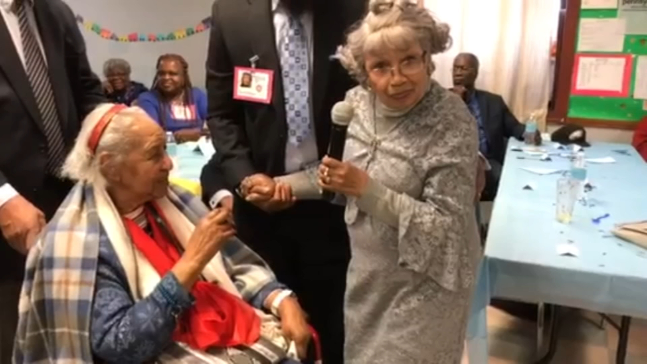 Centenarian says her secret to longevity is a secret. Walter Perez reports during Action News at 6 p.m. on December 8, 2018.