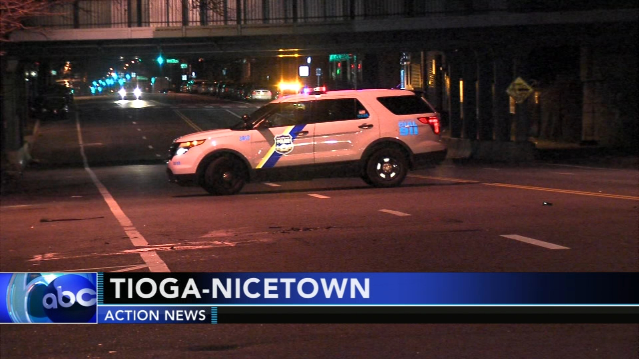Pedestrian injured after being struck by hit and run vehicle in Tioga-Nicetown. Walter Perez reports during Action News at 6 p.m. on December 8, 2018.