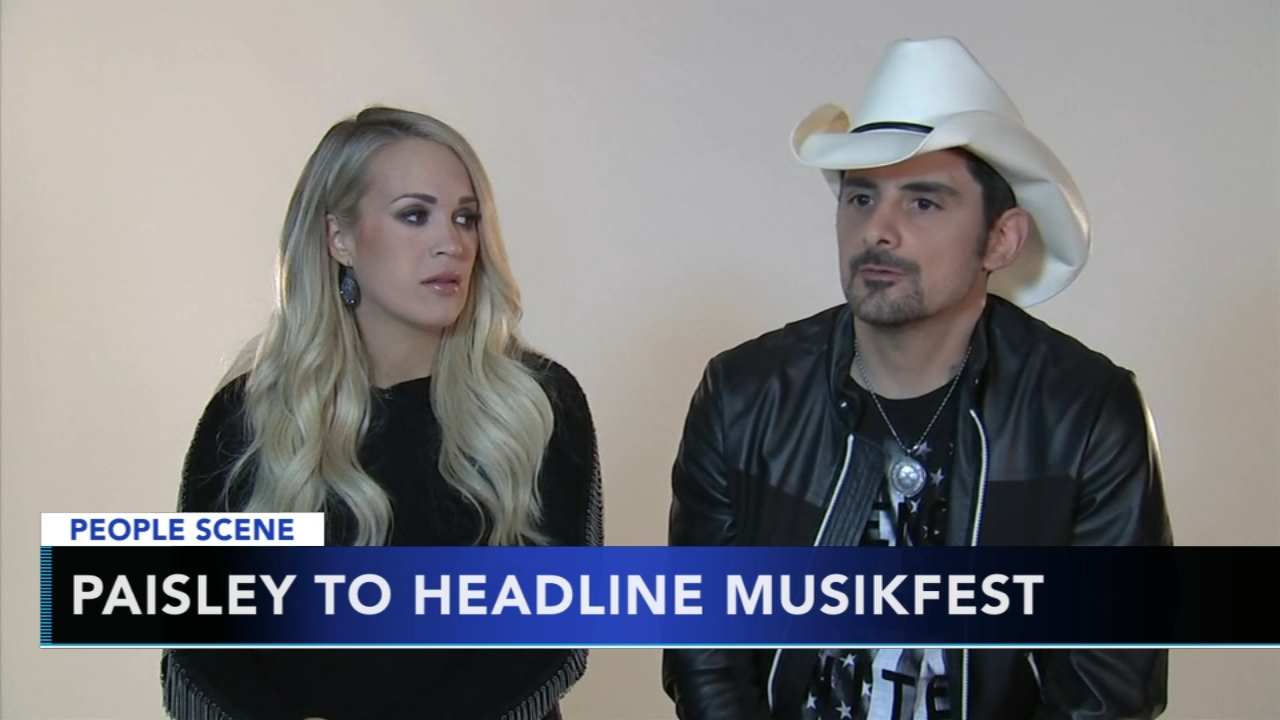 Brad Paisley to headline last night of Musikfest. Christie Ileto reports during Action News at 6 a.m. on December 8, 2018.