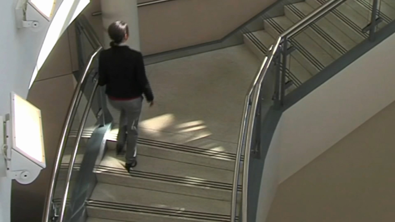 Study: Walking four flights of stairs without break key to avoiding early death. Gray Hall reports during Action News at 7 a.m. on December 8, 2018.