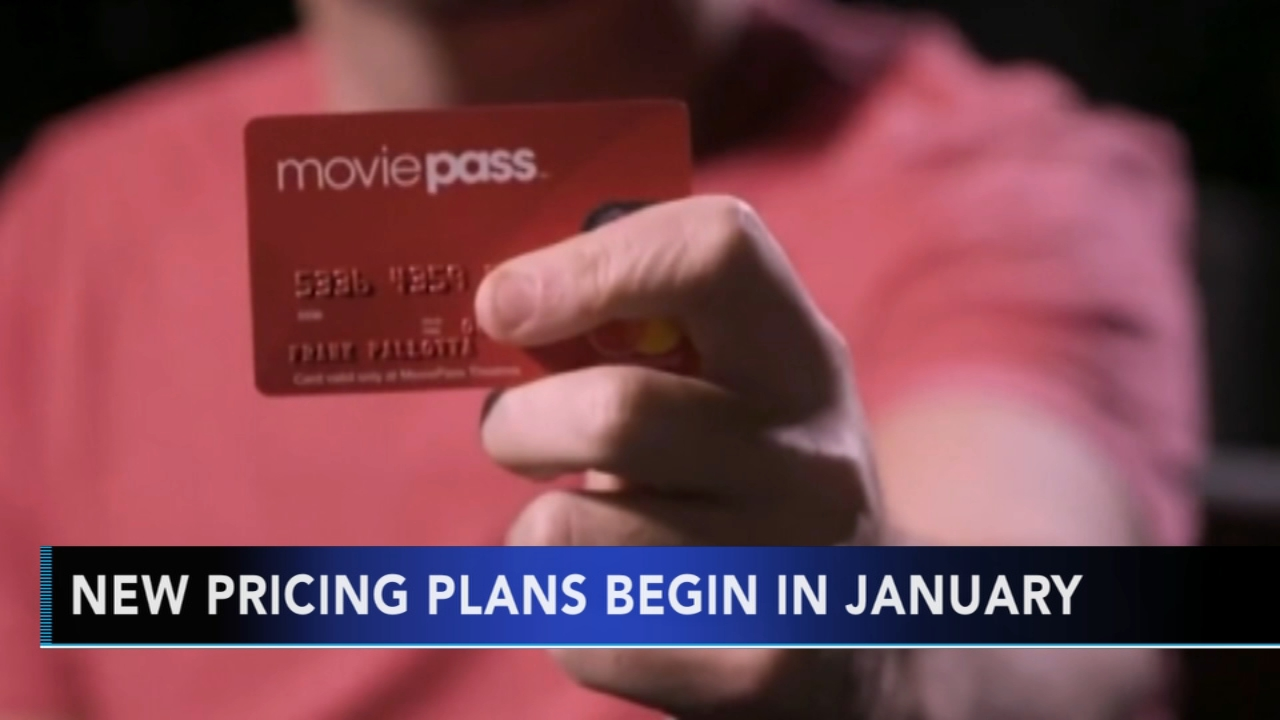 MoviePass announces new pricing plan for the new year. Gray Hall reports during Action News at 6 a.m. on December 8, 2018.
