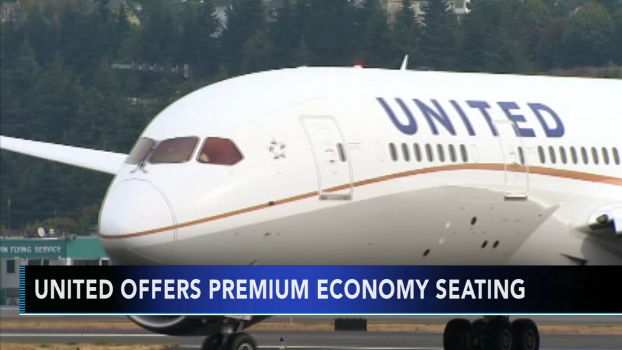 United Airlines to offer new premium economy seating. Gray Hall reports during Action News at 6 a.m. on December 8, 2018.
