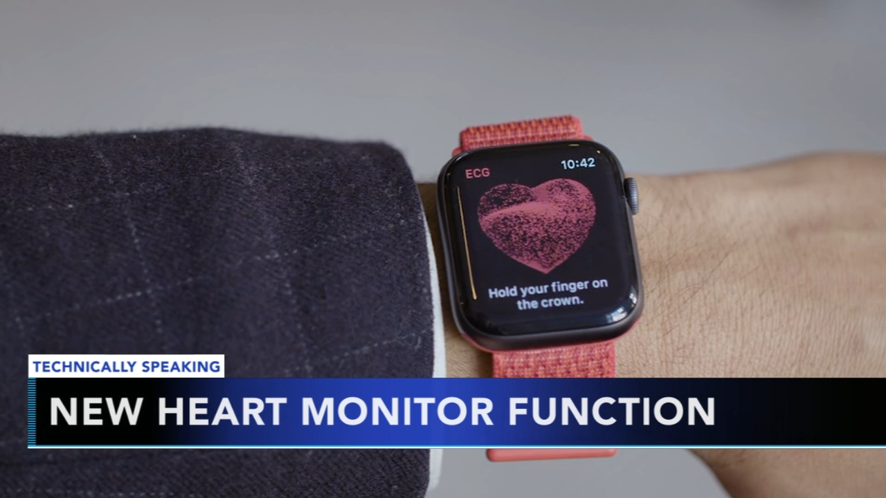 Apple Watch releases heart monitor function. Nydia Han reports during Action News at 9 a.m. on December 9, 2018.
