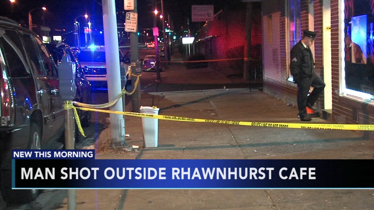 Man shot in chest during fight in Rhawnhurst. Nydia Han reports during Action News at 6 a.m. on December 9, 2018.