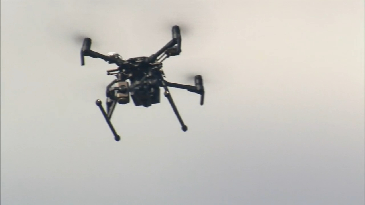 New York Police Department adds drones to its fleet. Nydia Han reports during Action News at 9 a.m. on December 9, 2018.
