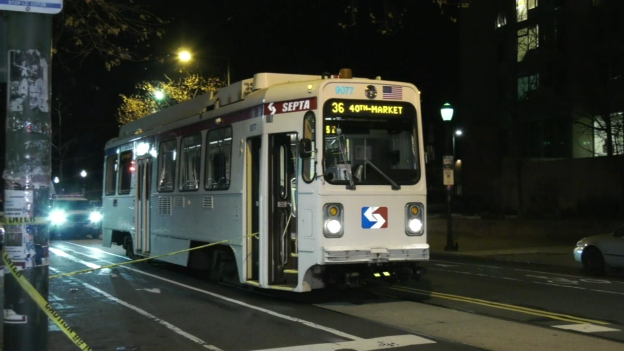 Man hospitalized after stabbing on SEPTA trolley. Nydia Han reports during Action News at 6 a.m. on December 9, 2018.