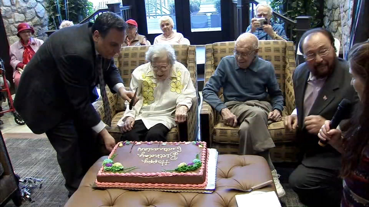 There was twice the reason for celebration Monday at Juniper Village in Bucks County.