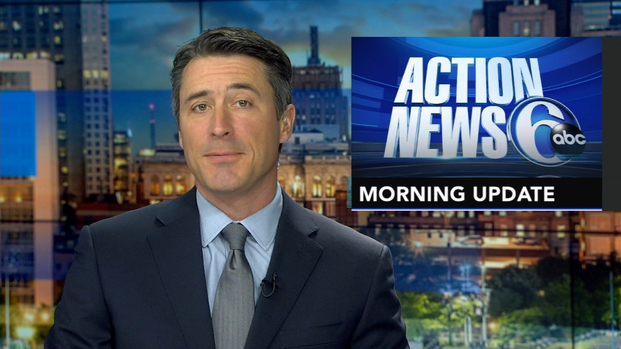 Matt ODonnell reports, and meteorologist David Murphy has the latest from AccuWeather, during the Action News Morning Update on December 10, 2018.