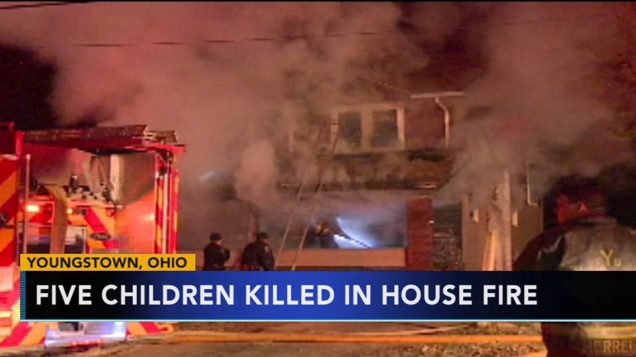5 children killed in Ohio house fire. Watch the report from Action News at 12 p.m. on Dec. 10, 2018.