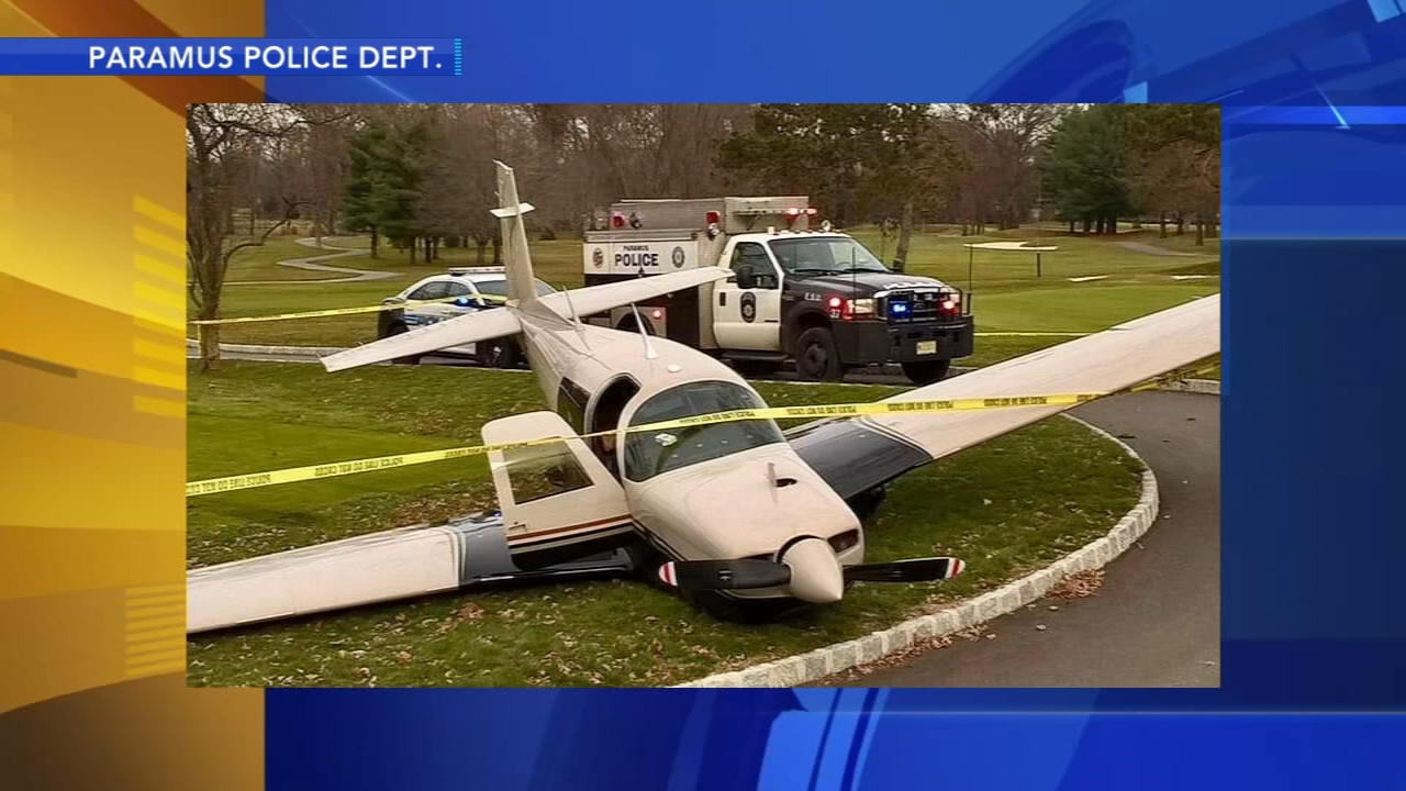 Small plane lands on N.J. golf course. Tamala Edwards reports during Action News Mornings on December 10, 2018.