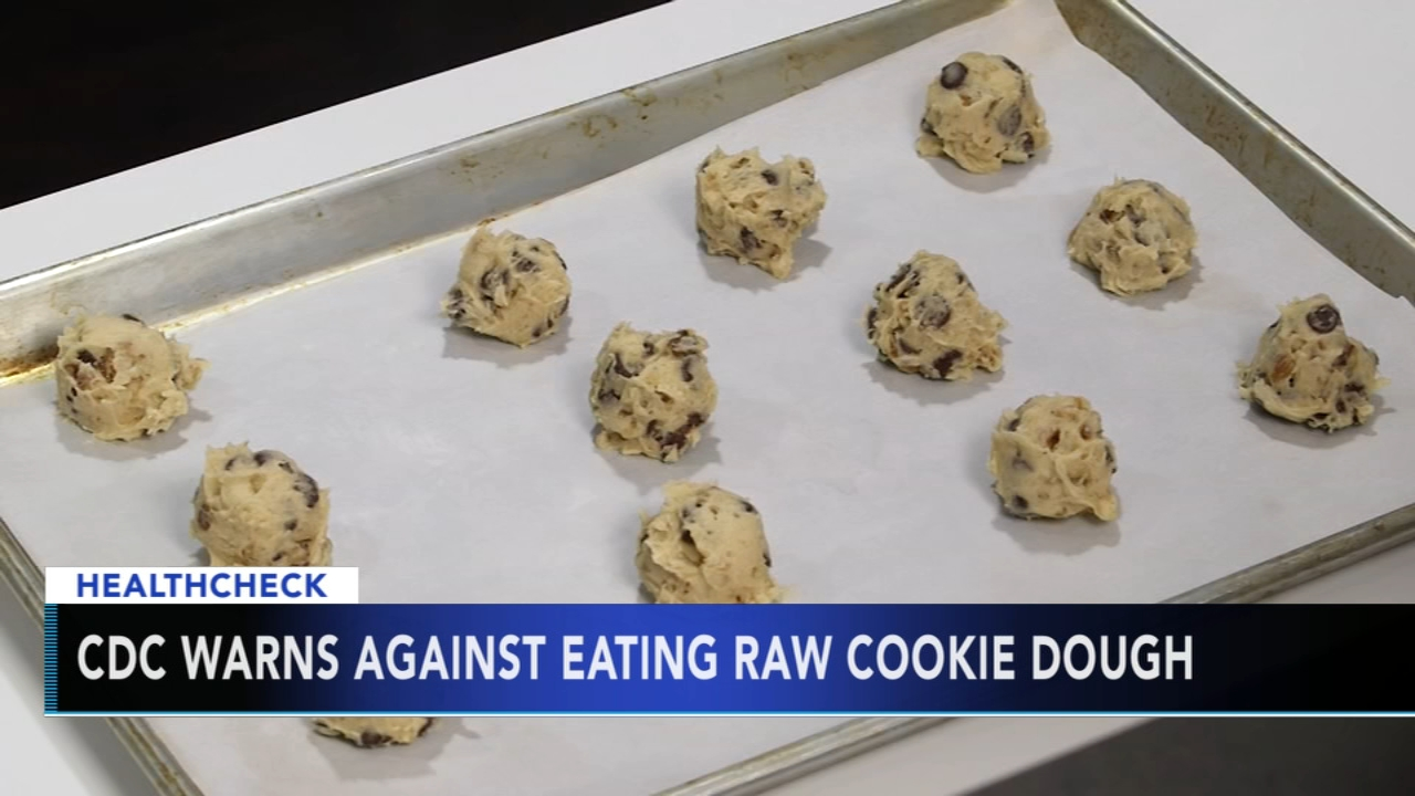 A warning from the CDC about one of the most popular goodies during the holidays: cookies.