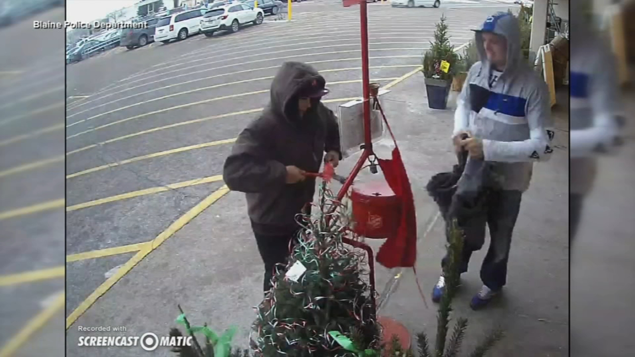 Thieves steal Salvation Army Red Kettle. Tamala Edwards reports during Action News Mornings on December 10, 2018.