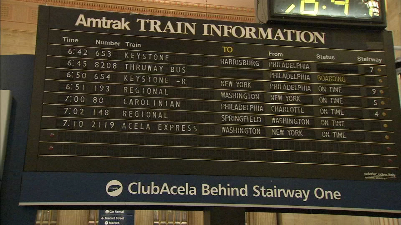 Theres a glimmer of hope for the flipping board at Philadelphias 30th Street Station as reported by Dann Cuellar during Action News at 11 on December 11, 2018.