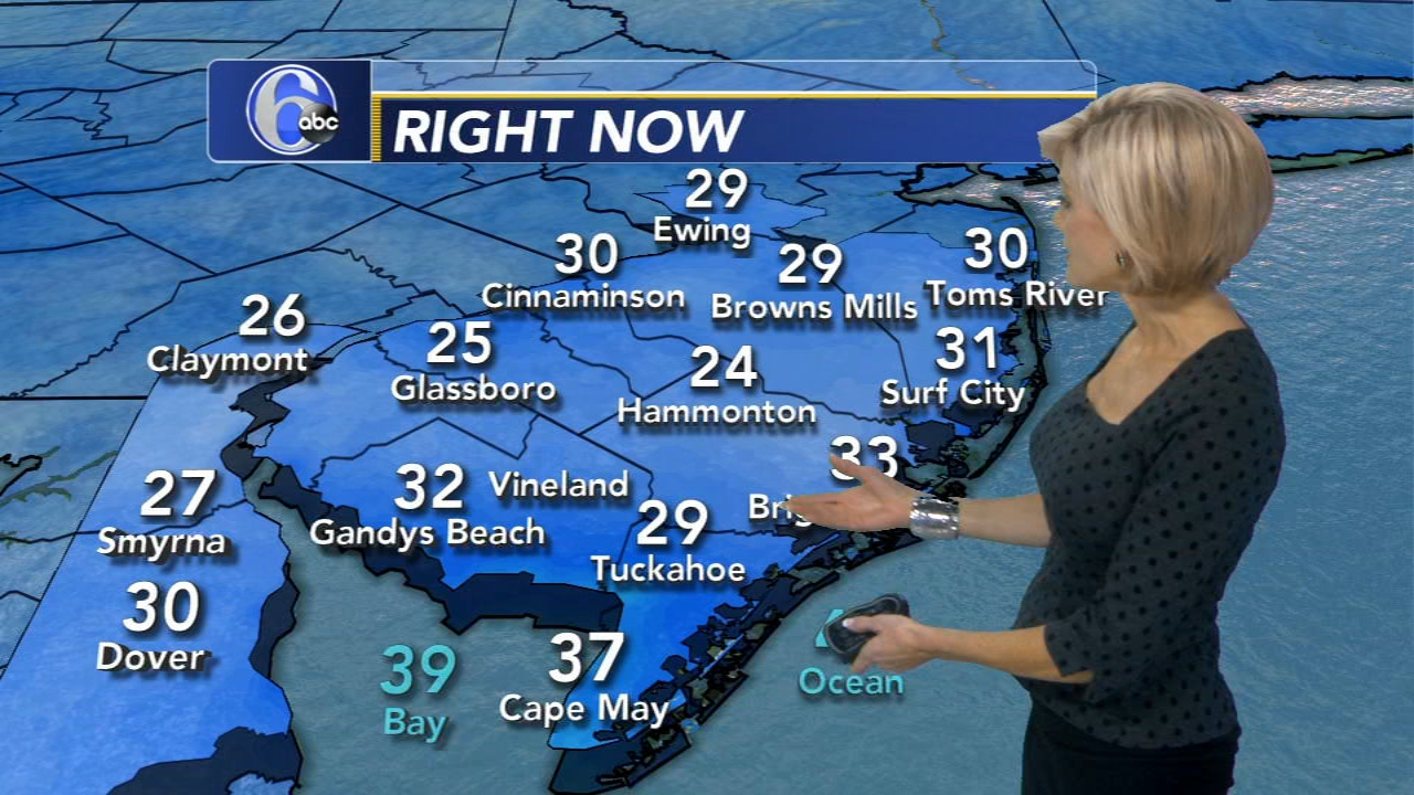 Cecily Tynan with the AccuWeather forecast