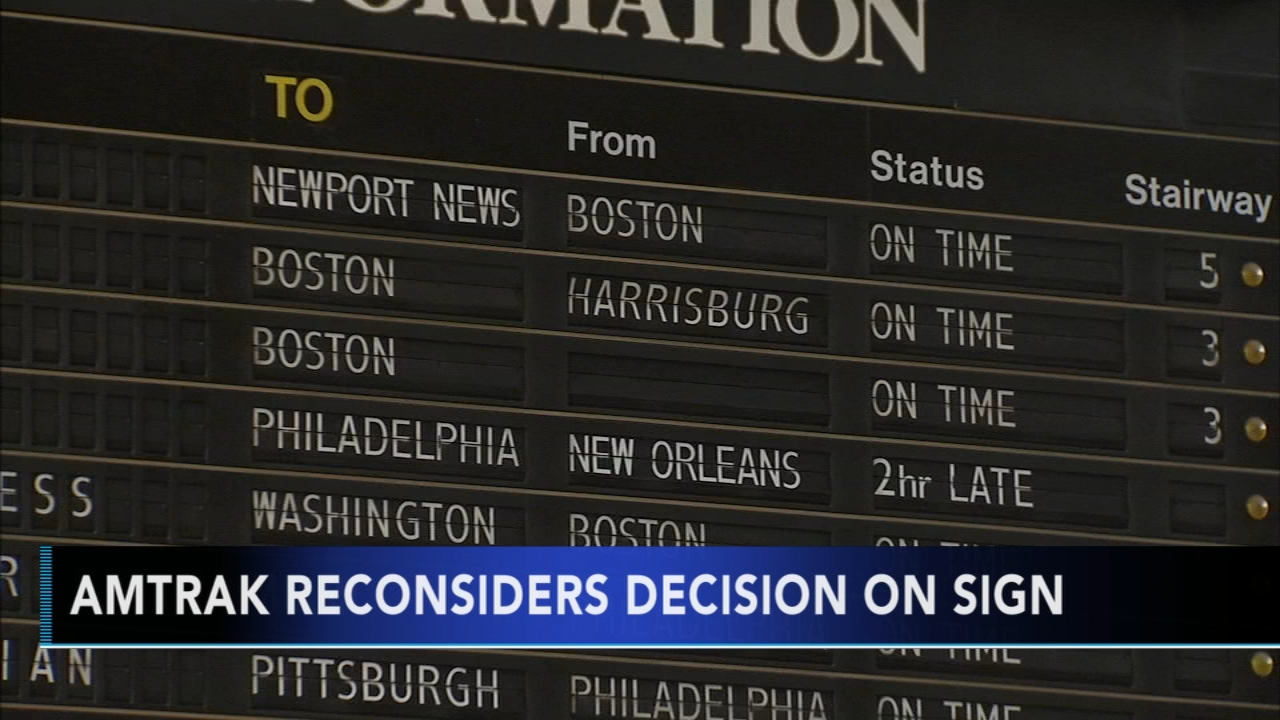 Could flipping board at 30th Street Station be staying after all? Watch this report from Action News at 4:30pm on December 11, 2018.