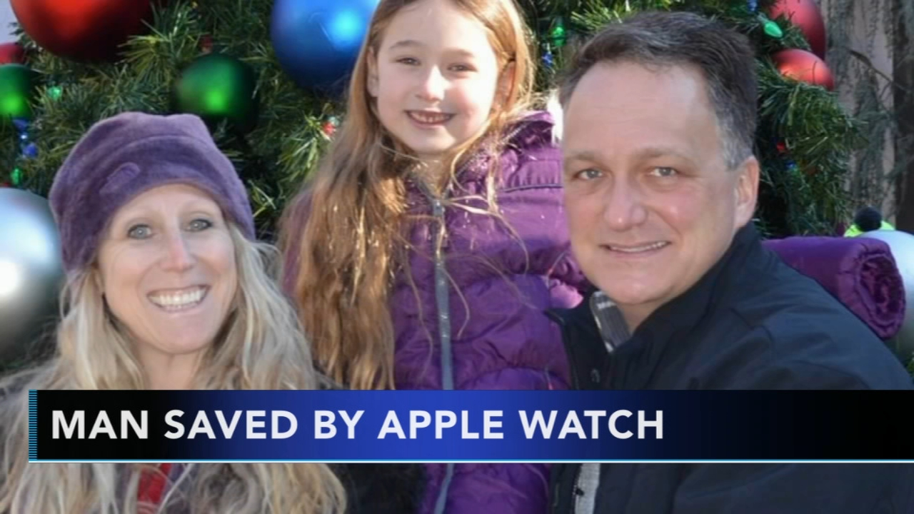 An Apple Watch may have helped save a mans life by detecting a potentially deadly heart condition called atrial fibrillation, or AFib.