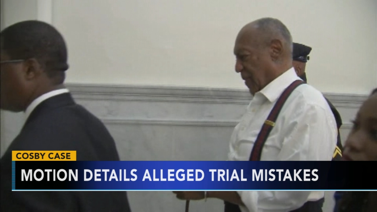 Cosby lawyers detail 11 alleged trial errors as they appeal. Watch this report from Action News at 4pm on December 11, 2018.