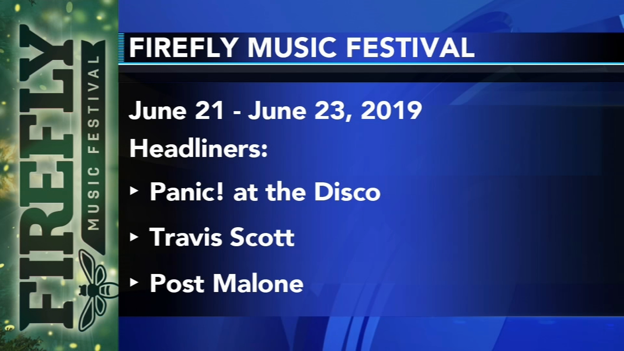 Firefly Music Festival announces 2019 lineup, new programs - Sarah Bloomquist reports during Action News at noon on December 11, 2018.