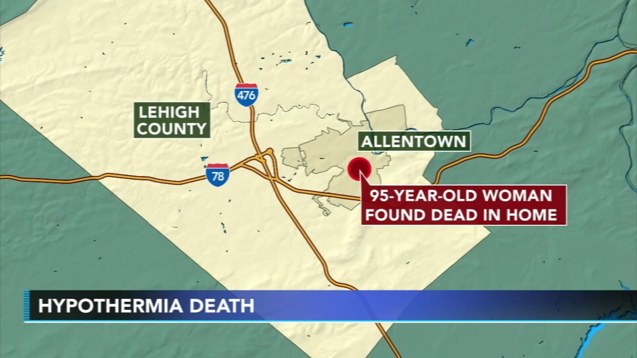 Elderly woman dies from hypothermia in Allentown. Jim Gardner reports during Action News at 6 p.m. on December 11, 2018.