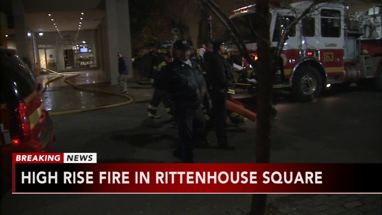 High-rise apartment fire in Rittenhouse Square. Jeannette Reyes reports during Action News Mornings on December 11, 2018.