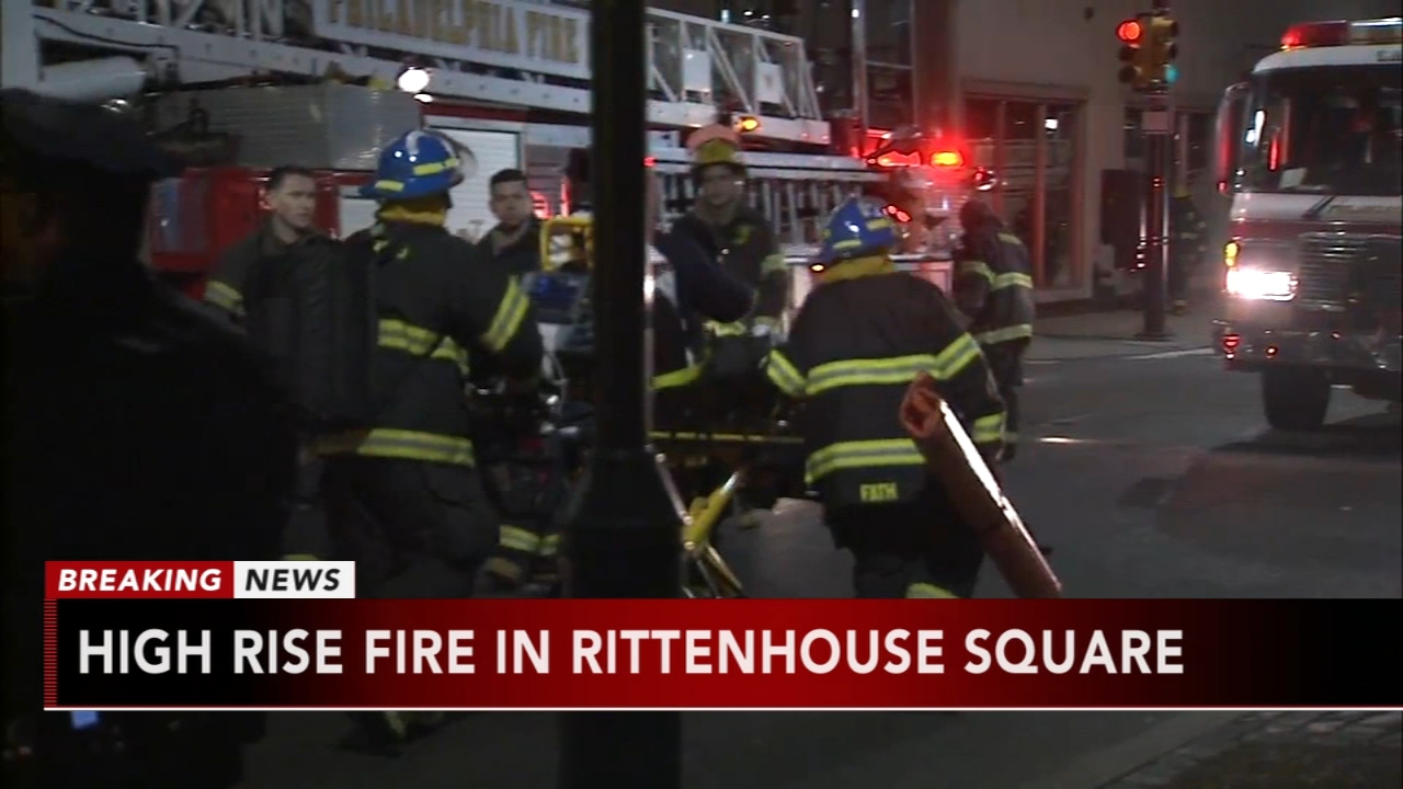 Residents escape Rittenhouse high-rise fire. Jeannette Reyes reports during Action News Mornings on December 11, 2018.