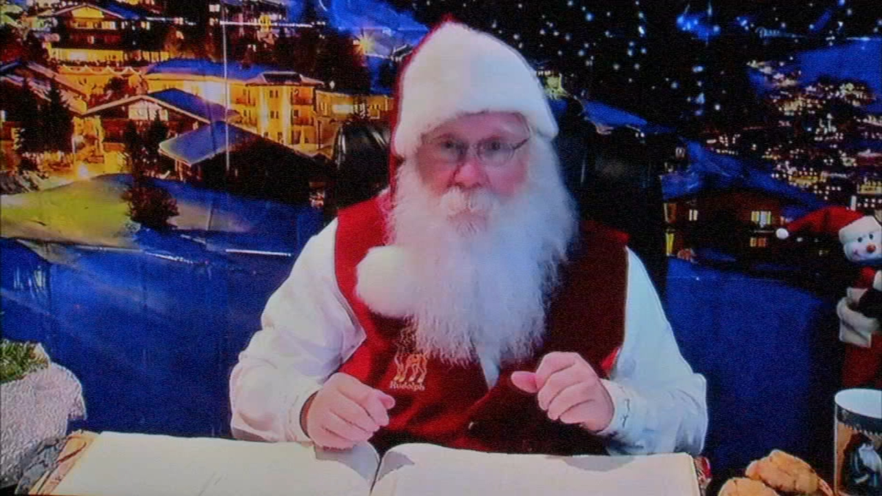 Shriners Hospital for Children in Philadelphia, was able to create the live hook-up with Santa as reported during Action News at 4 on December 12, 2018.