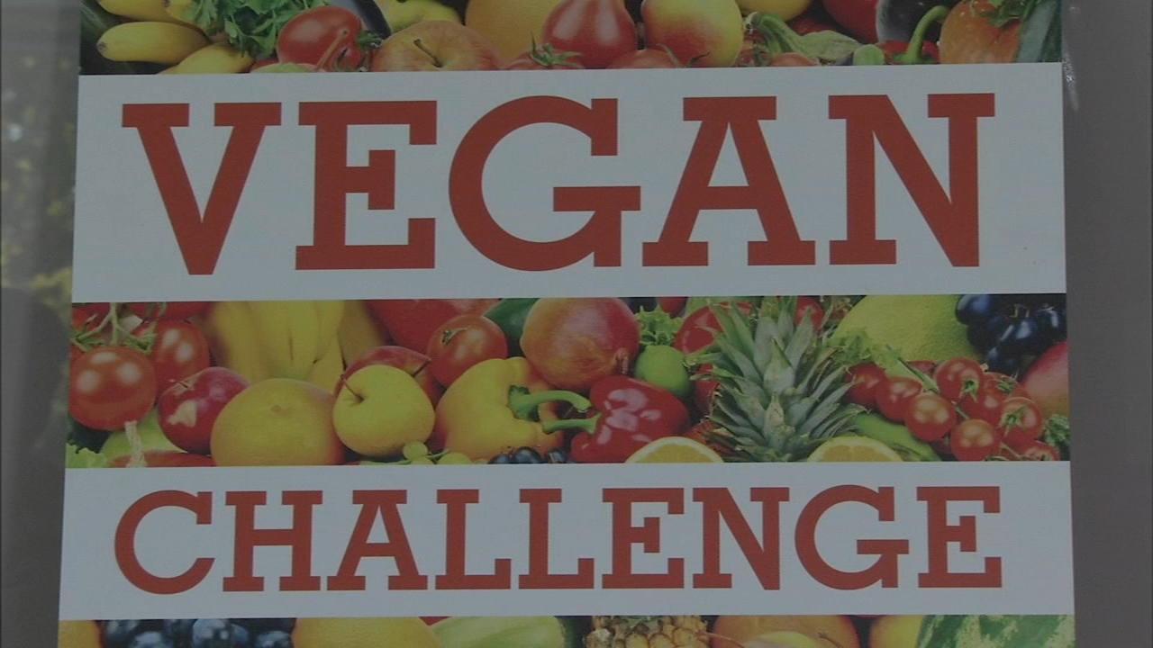 Could you handle the 30-day vegan challenge? Ali Gorman has the details during Action News at 5pm on December 12, 2018.