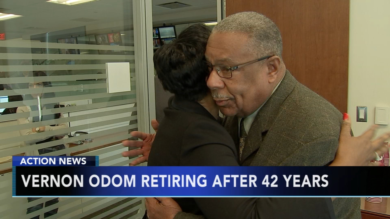 Vernon Odom to retire from 6abc after 42 years: as seen on Action News at 6 p.m., December 12, 2018