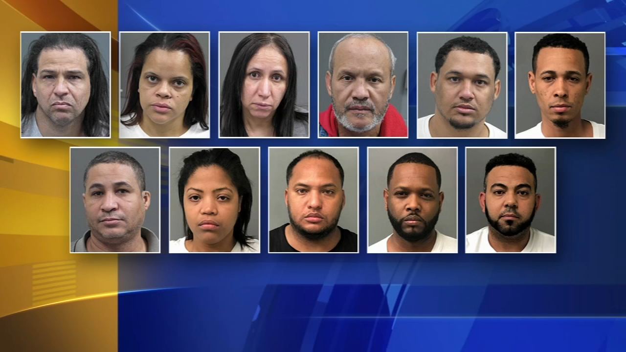 11 arrests after large drug bust in Warminster: Walter Perez reports on Action News at 6 p.m., December 12, 2018
