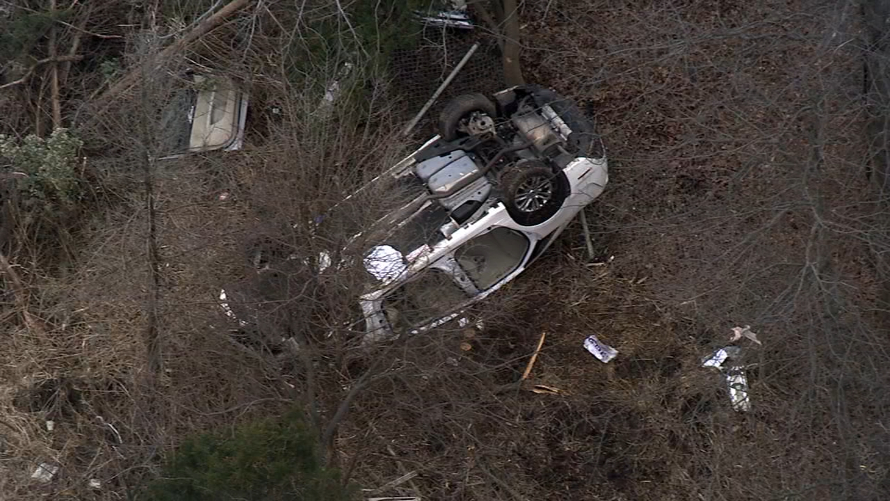 Chopper 6 Video: Fatal crash on I-295 on December 13, 2018.
