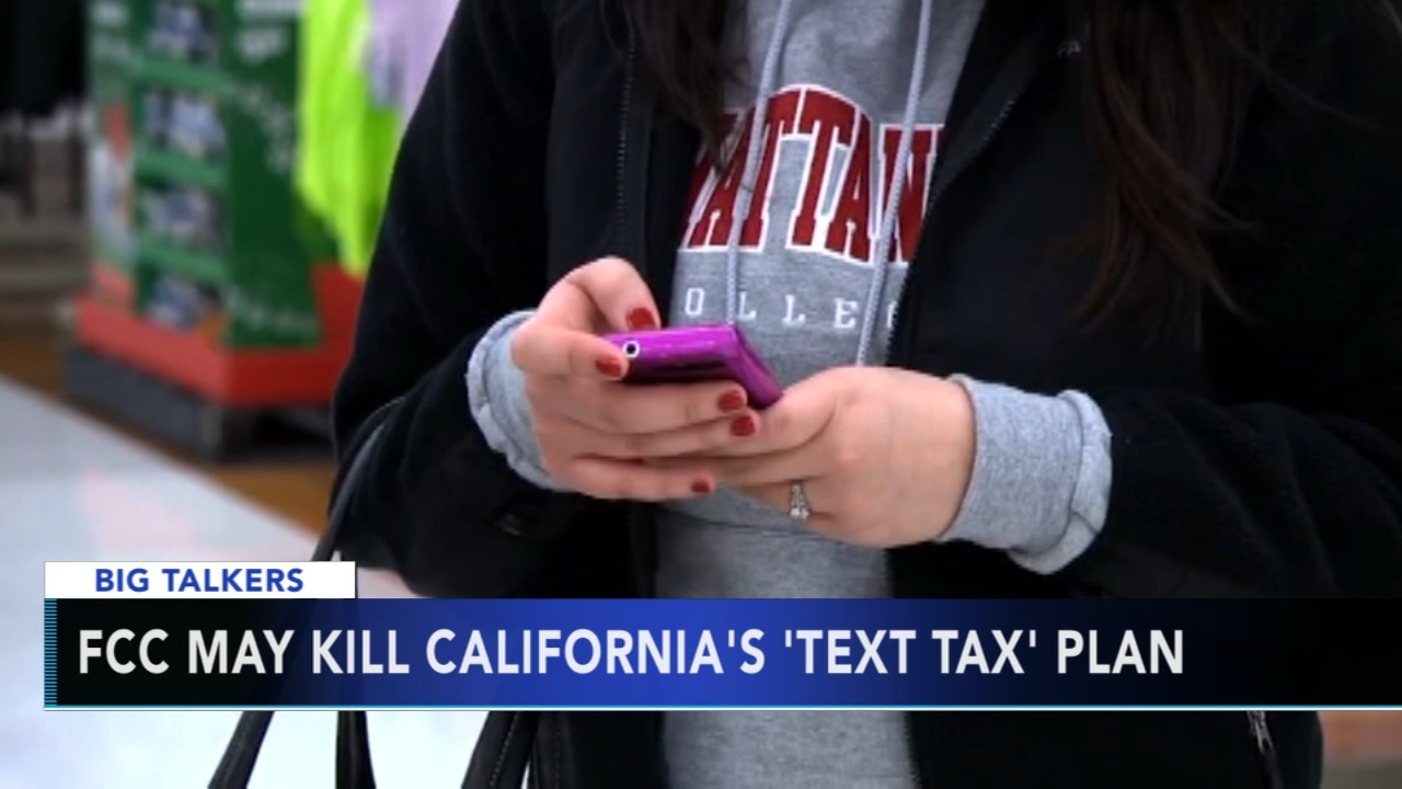 New FCC ruling could block proposed text messaging tax in California. Rick Williams reports during Action News at 4 p.m. on December 13, 2018.