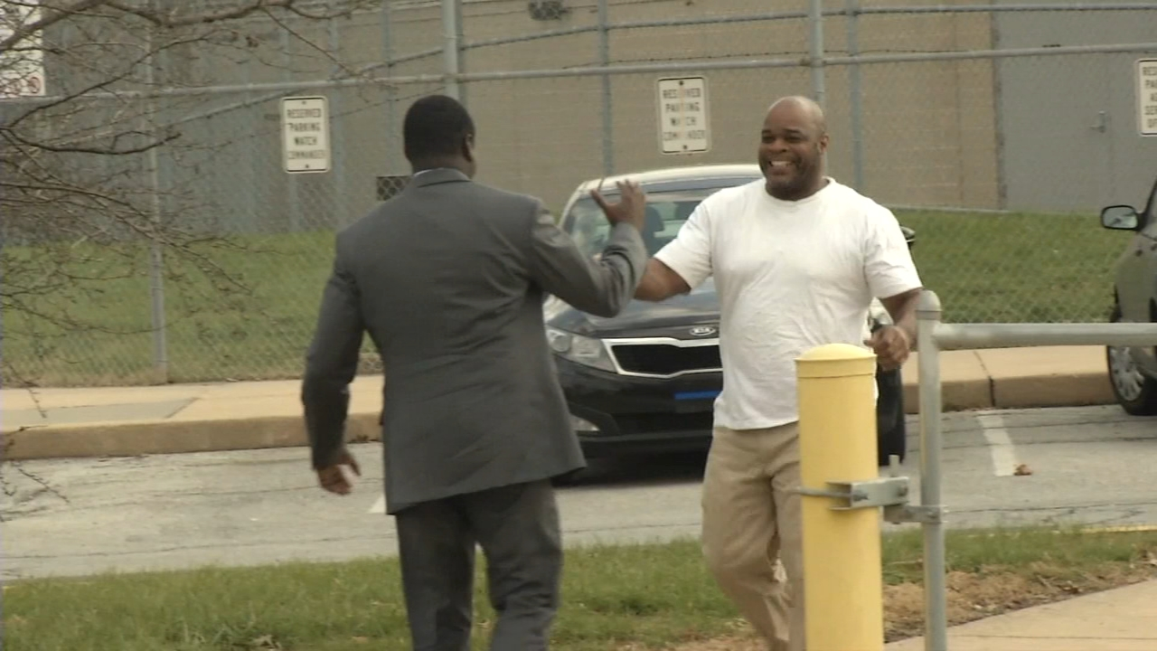 Wrongfully imprisoned Delaware man free nearly 4 decades later. Christie Ileto reports during Action News at 5 p.m. on December 13, 2018.