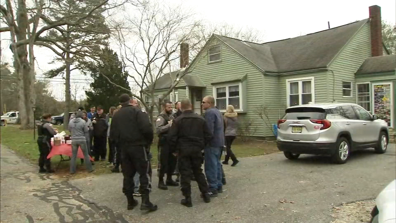 A caravan from East Coast Roofing led this years recipient home to receive his surprise free roof as reported during Action News at 4 on December 13, 2018..