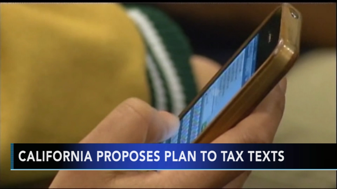 California proposes plan to tax texts. Matt ODonnell reports during Action News Mornings on December 13, 2018.