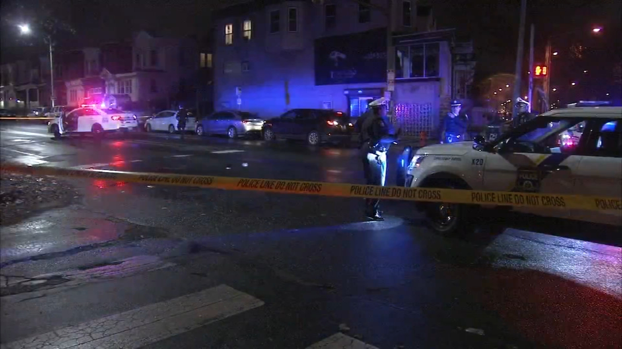 Teen shot in the head in Olney. Video of the scene on December 14, 2018.