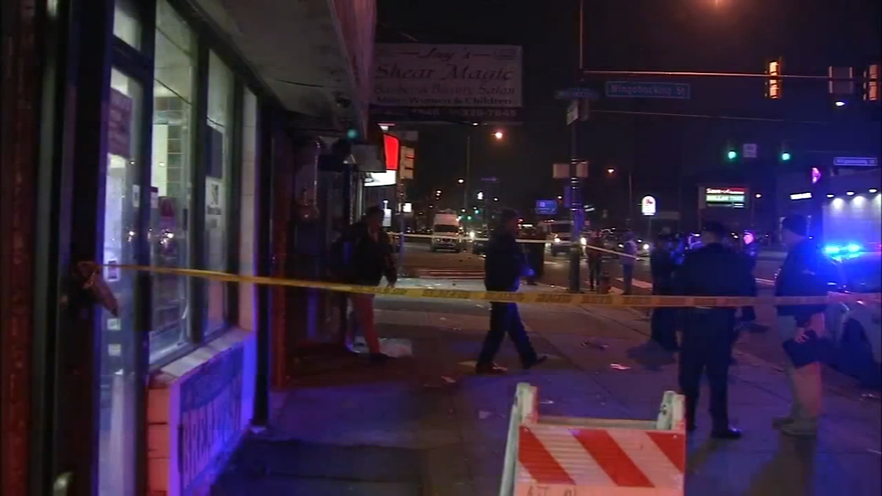 1 killed, 3 injured in Philadelpha barbershop shooting. Jeannette Reyes reports during Action News Mornings on December 14, 2018.