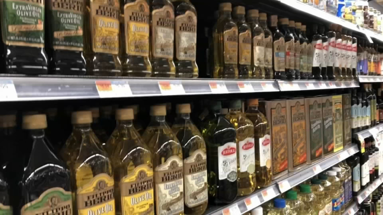 Consumer Reports: Which cooking oils are healthiest to use? Ali Gorman reports during Action News at 5pm on December 14, 2018.