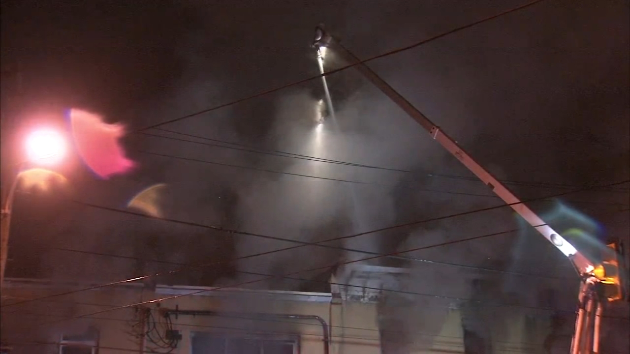 One firefighter injured in West Philadelphia blaze